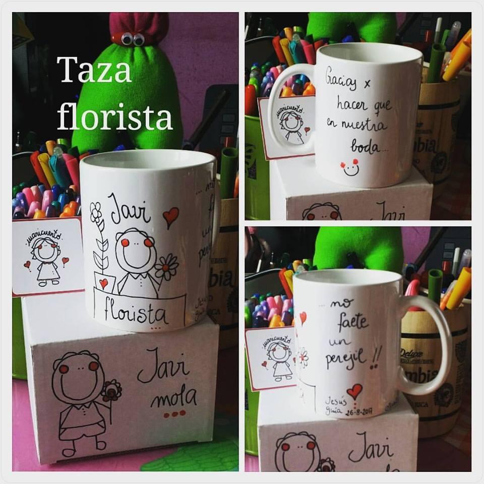 Taza Florista