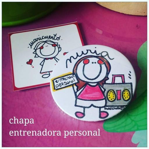 Chapa Entrenador Personal [1]