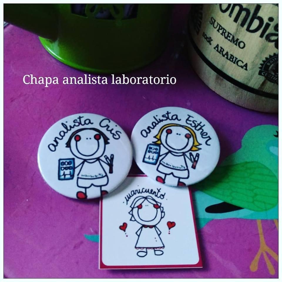 Chapa analista laboratorio