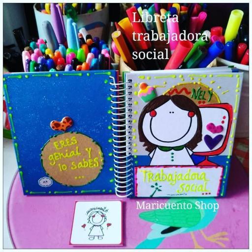Libreta Trabajadora Social. Talla M.