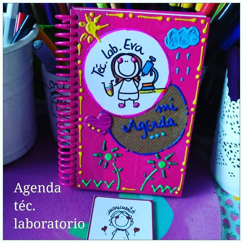 Agenda Laboratorio. Talla M.