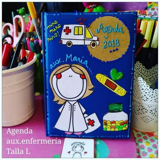 Agenda Enfermera Talla L