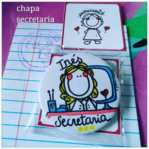 Chapa secretaria