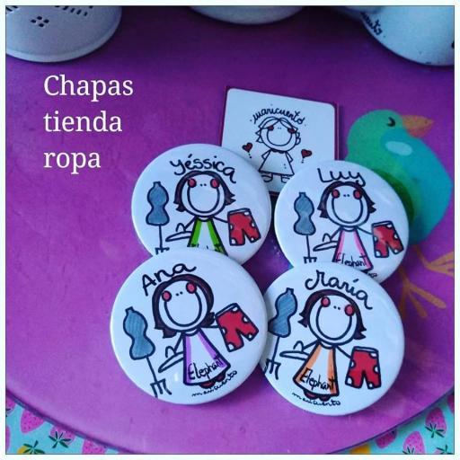 Chapa Tienda Ropa
