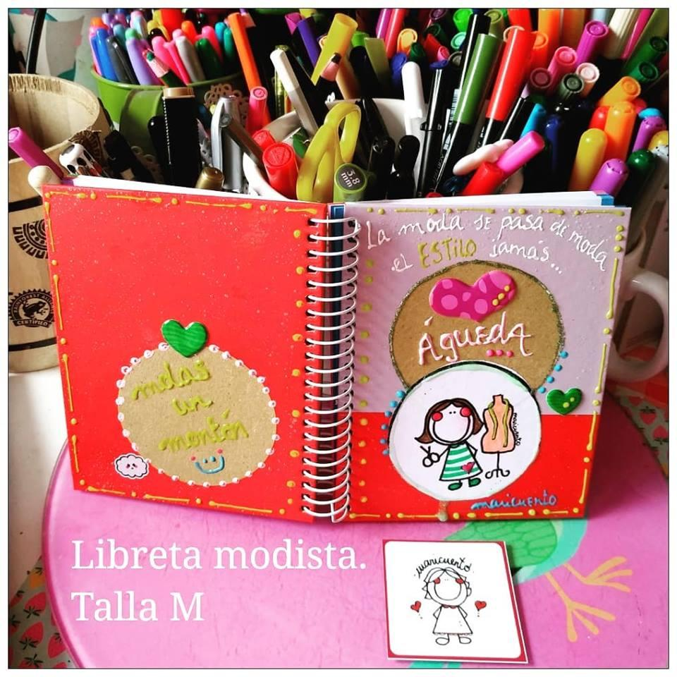 Libreta Modista/Diseñadora/Costurera