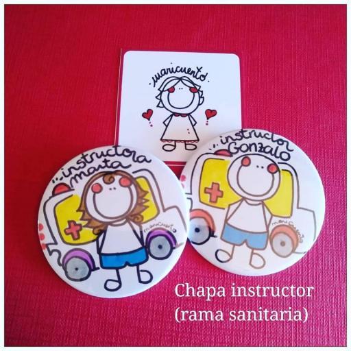 Chapa Instructor Sanitario
