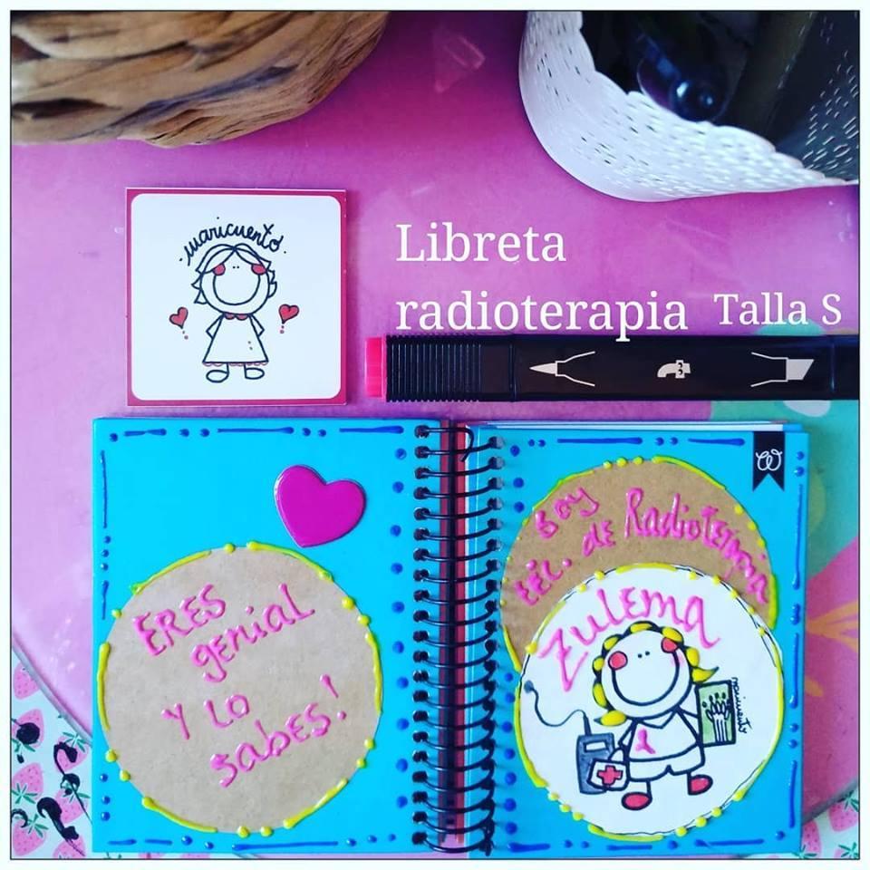 Libreta Radioterapia. Talla S.