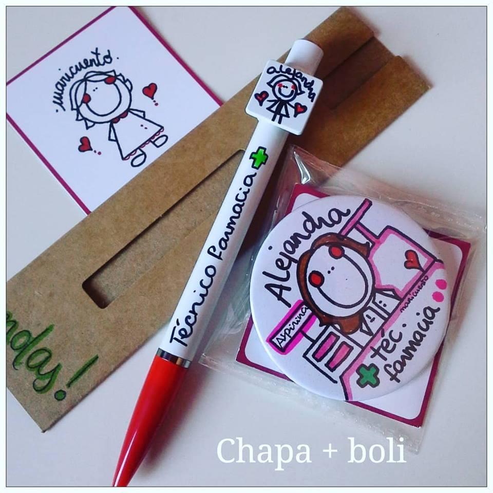 Pack Chapa+boli personalizado
