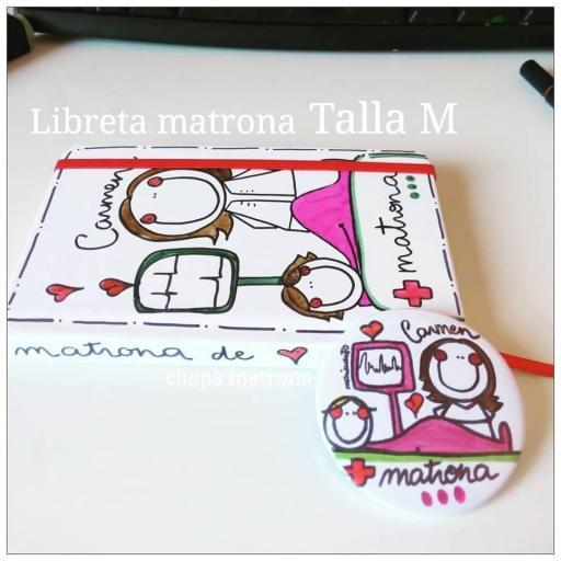 Libreta Matrona. Talla M. [1]