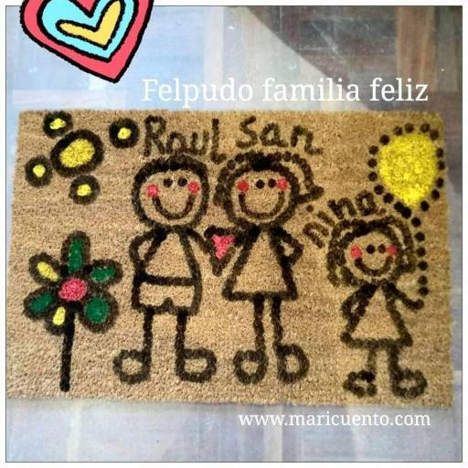 Felpudo Familia Feliz [1]