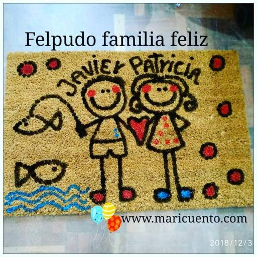 Felpudo Familia Feliz [2]