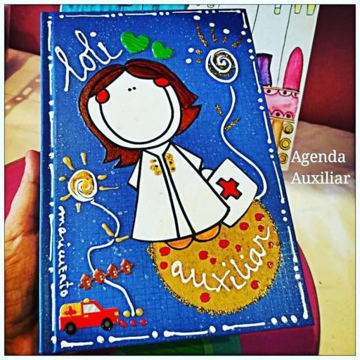 Agenda Auxiliar Enfermería. Talla L