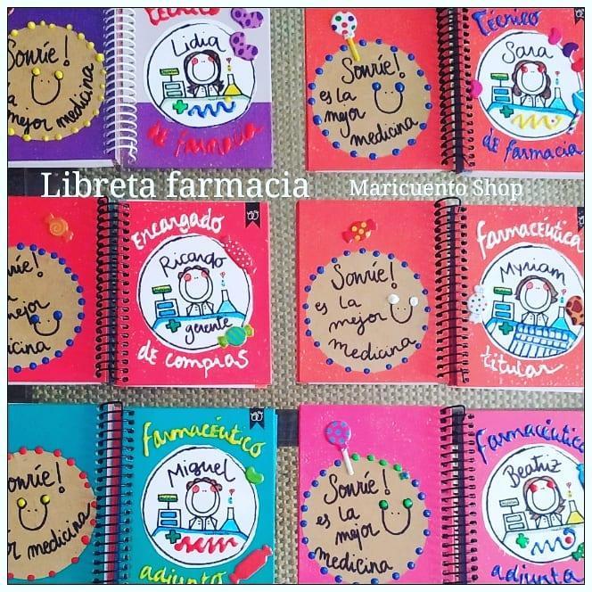 Libreta Farmacia.Talla S