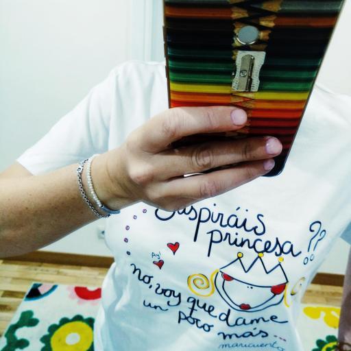 Camiseta Suspiráis princesa [1]