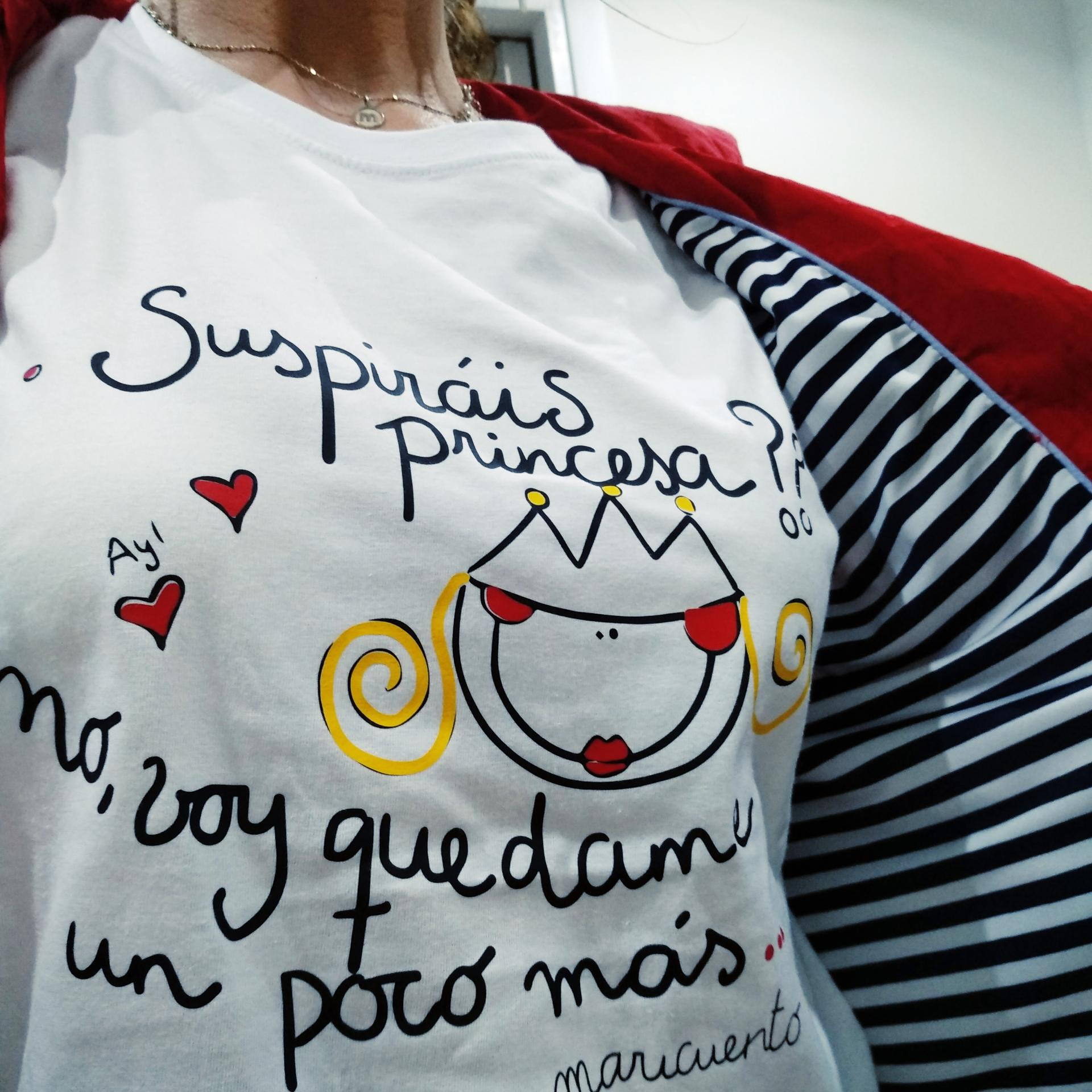 Camiseta Suspiráis princesa