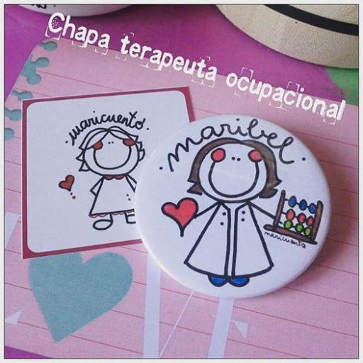 Chapa terapeuta ocupacional [1]