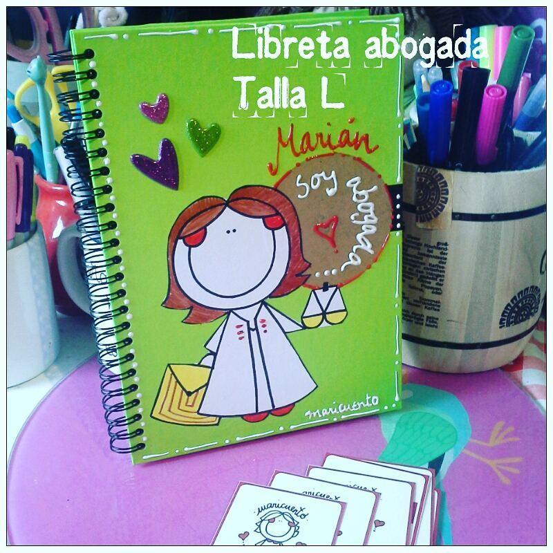 Libreta Abogada Talla L