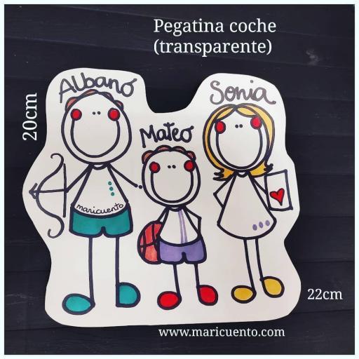 Pegatina Coche