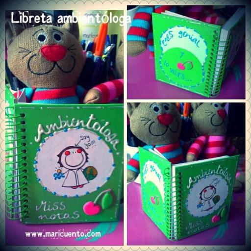 Libreta Ambientóloga. Talla S [1]