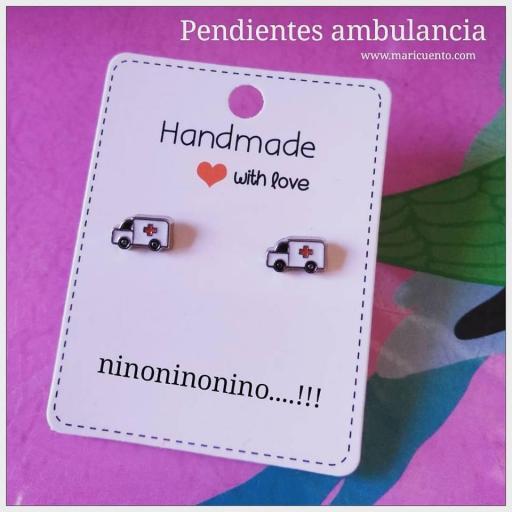 Pendientes ambulancia