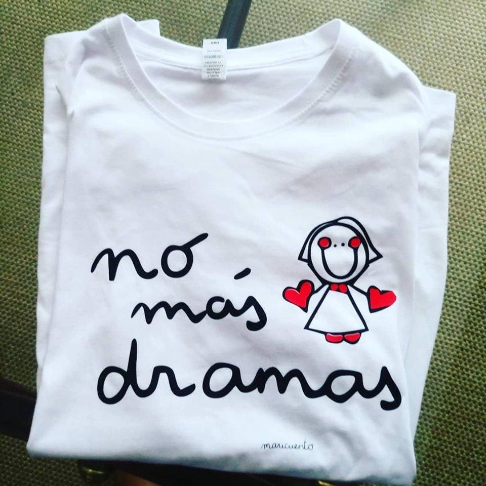 Camiseta No más dramas