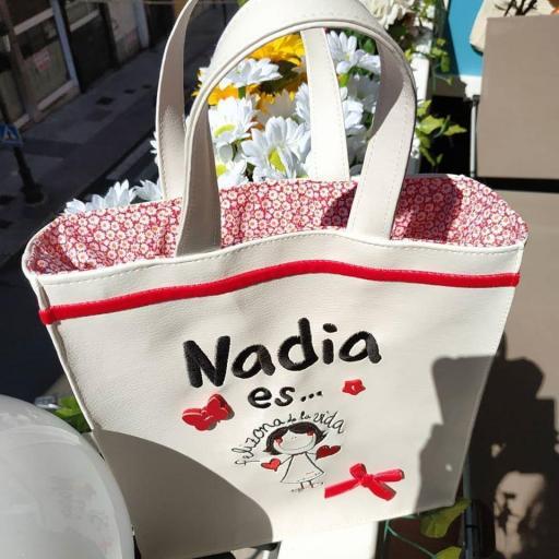 Bolsa Felizona Bordada