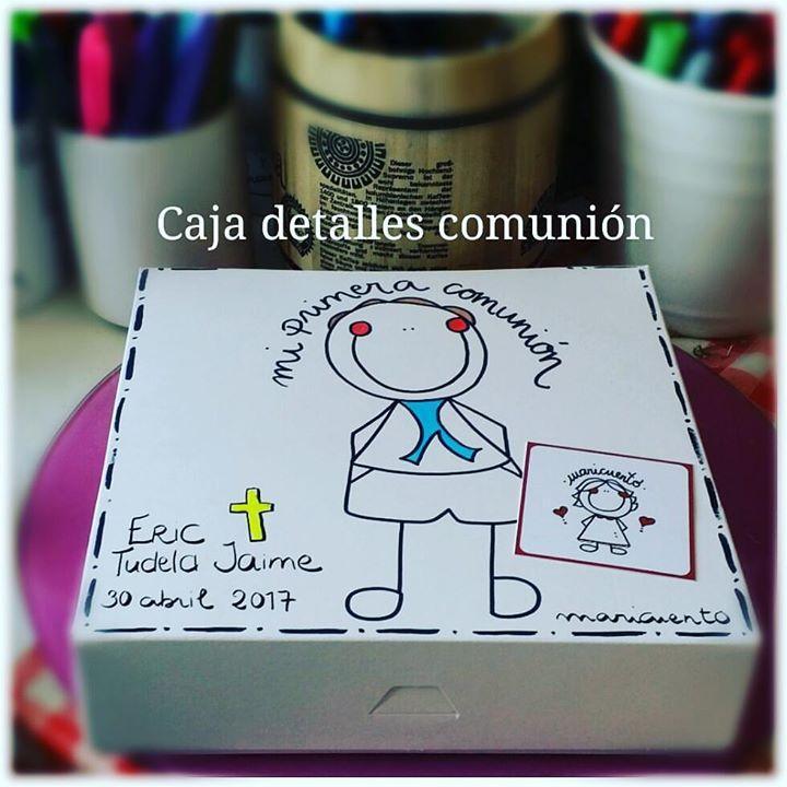 Caja comunión