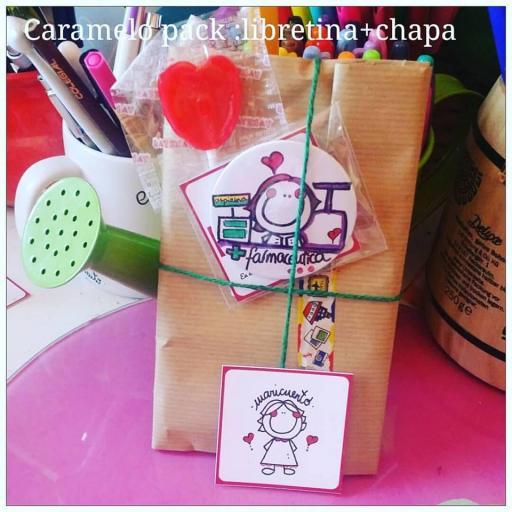 """Caramelo pack """"Libretina+chapa"""" [1]"""