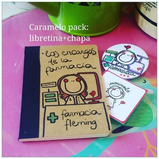 """Caramelo pack """"Libretina+chapa"""" [2]"""