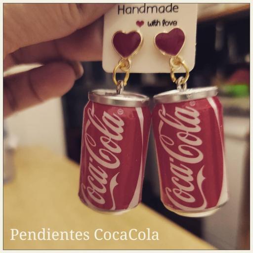 Pendientes CocaCola