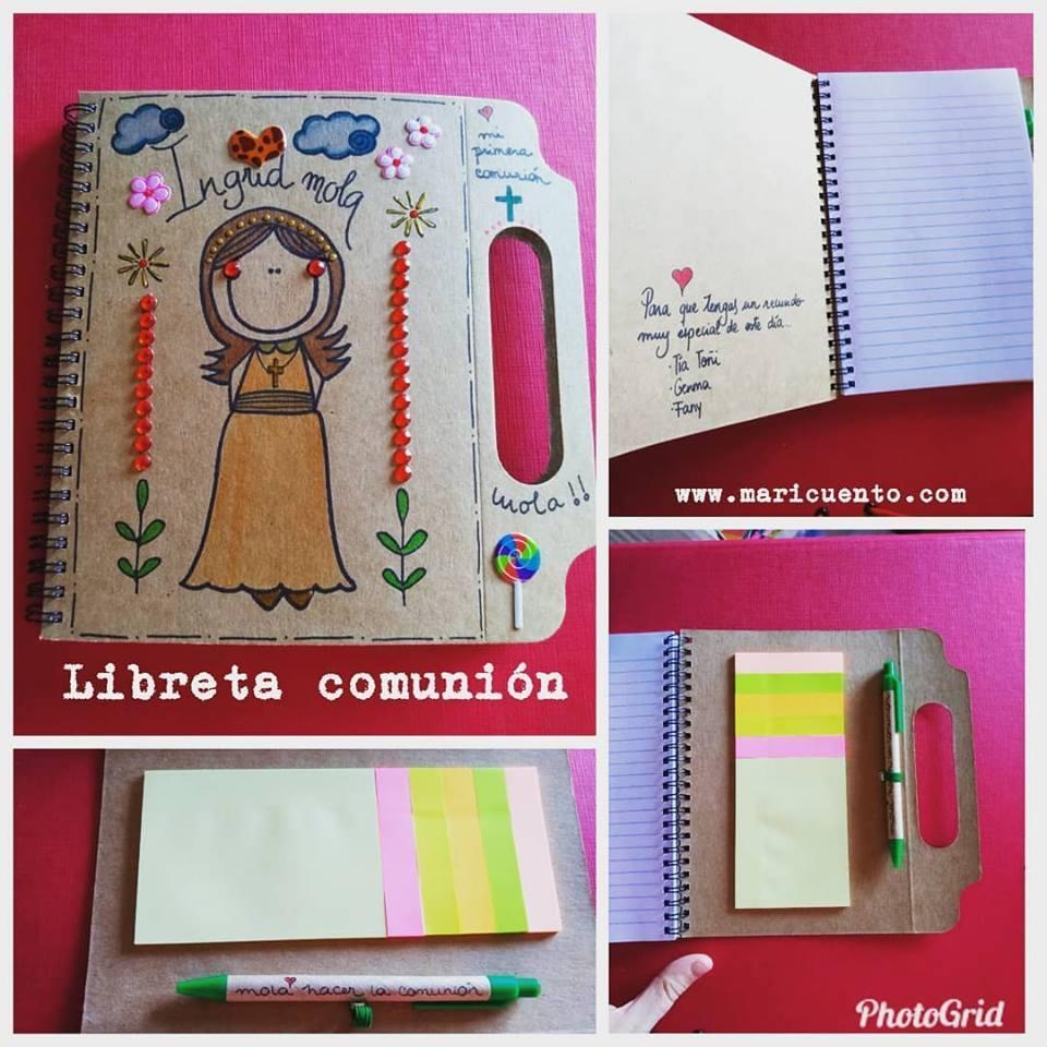 Libreta Comunión