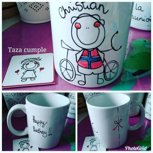 "Taza ""Ciclista"""