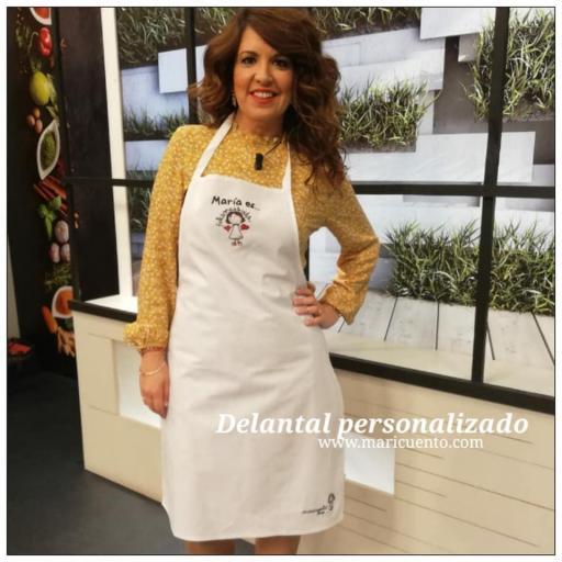 Delantal Felizona Bordado [2]