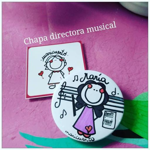 Chapa Directora Musical