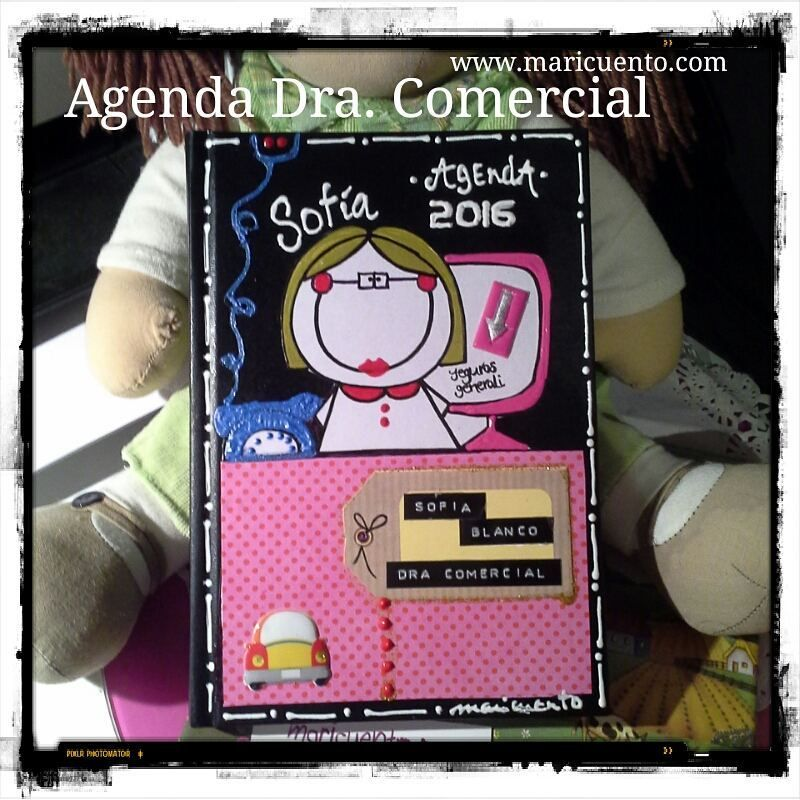 Agenda Comercial. Talla L