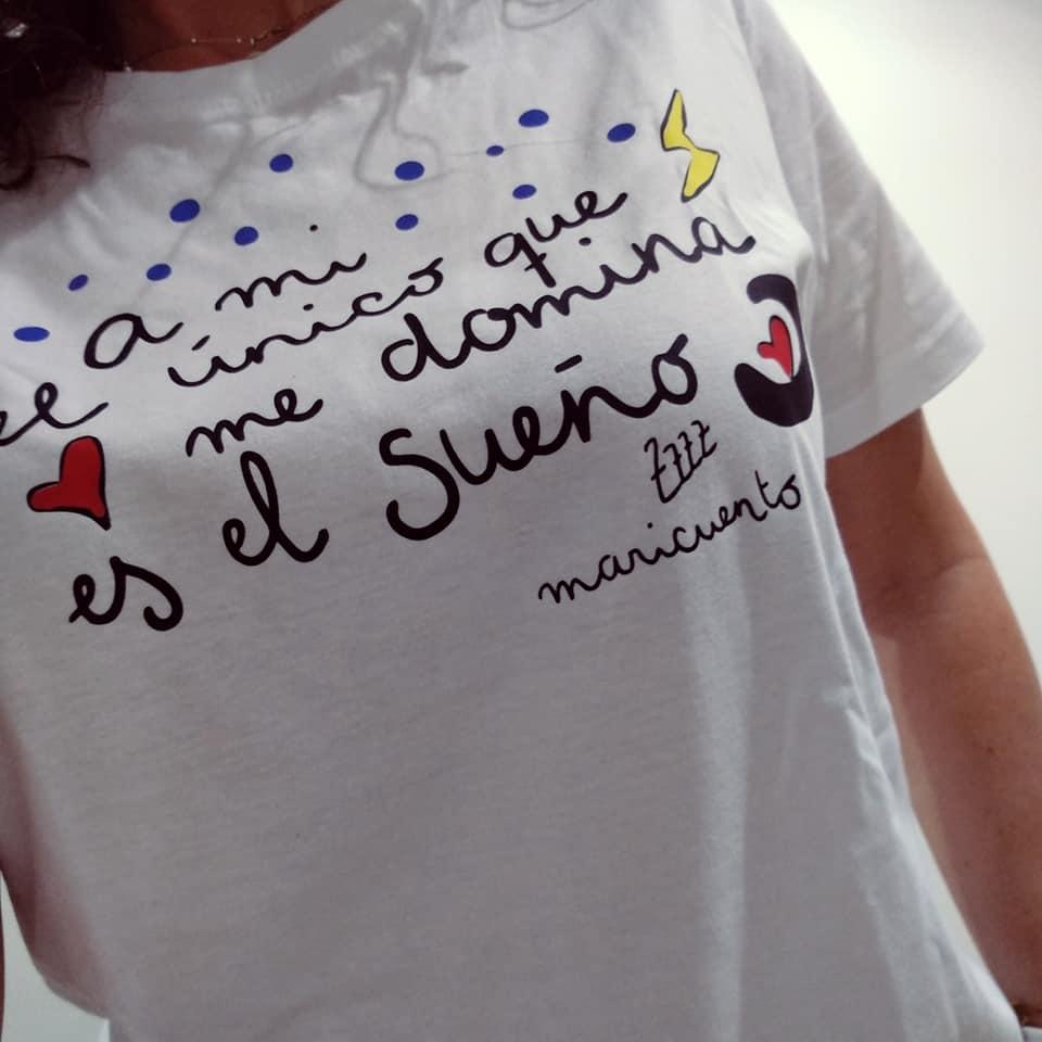 Camiseta Domina el sueño