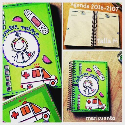 Agenda Enfermera. Talla M.