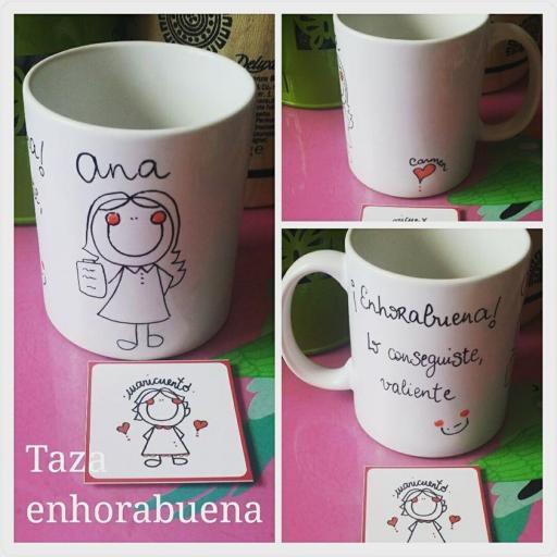 Taza Enhorabuena