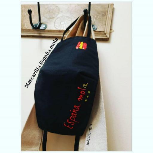 """Mascarilla """"España Mola"""""""