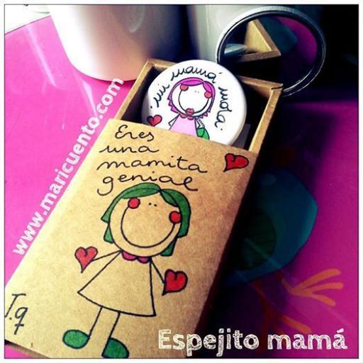 Espejito mamá + caja