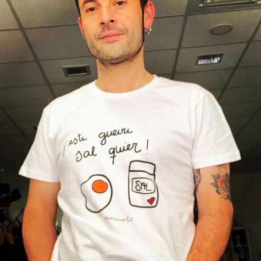 Camiseta Esti güevu sal quier [2]