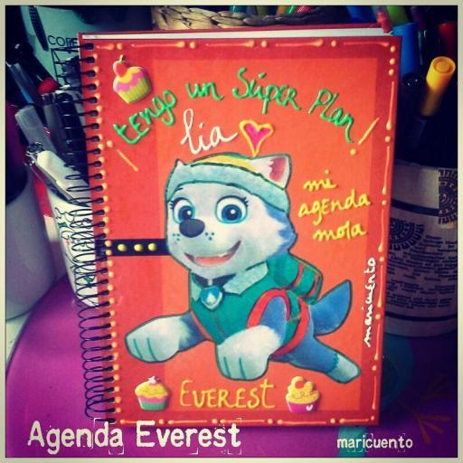 Agenda Everest (patrulla canina). Talla L