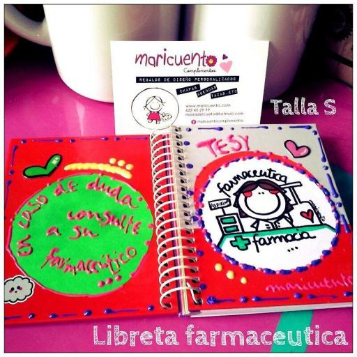 Libreta Farmacia.Talla S [2]