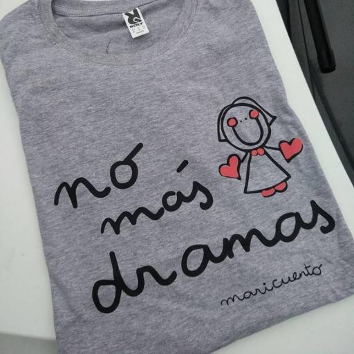 Camiseta No más dramas [2]