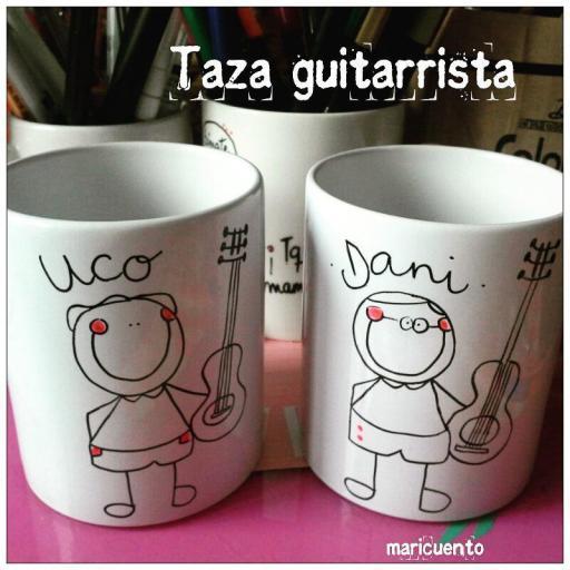 "Taza ""Músico"" [1]"
