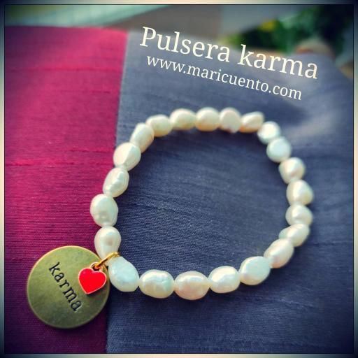 Pulsera Karma perlas [0]