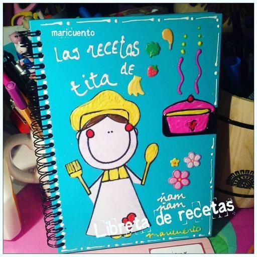 Libreta Recetas. Talla L [1]