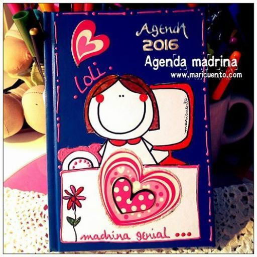 Agenda Madrina. Talla L [1]