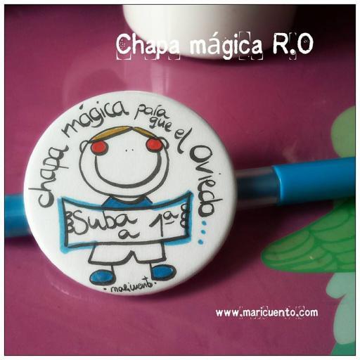 Chapa mágica R.O. [0]