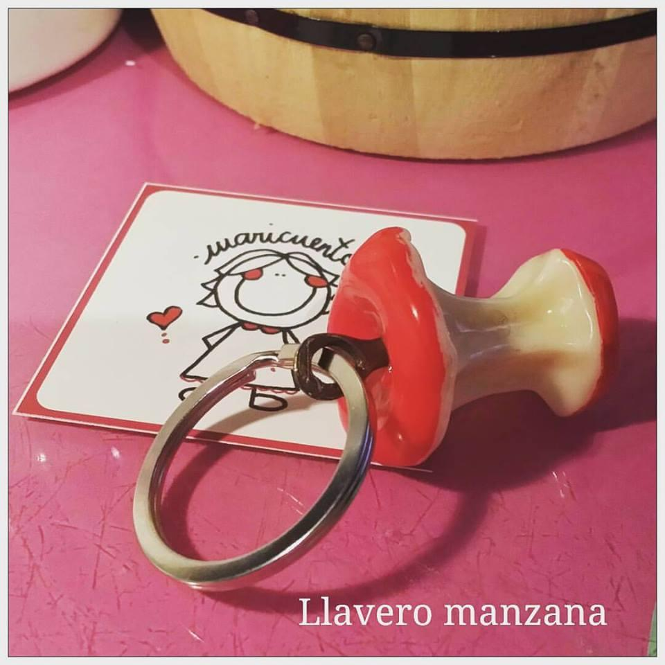 Llavero Manzana